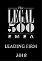 logo legal 500 emea leading firm 2018